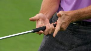 alternative putting grip